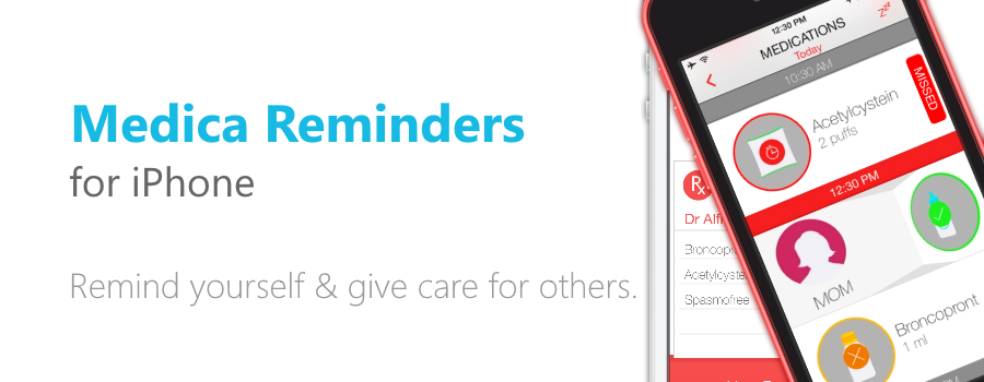 Medica Reminders for iPhone